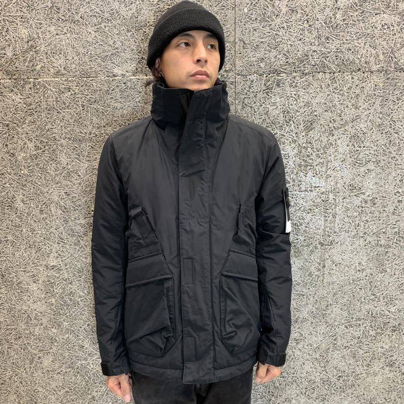 STONE ISLAND  MICRO REPS WITH PRIMALOFT® INSULATION TECHNOLOGY    41726 BLACK