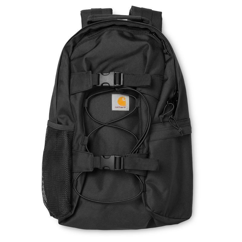 CARAHARTT WIP KICK FLIP BACKPACK BLACK