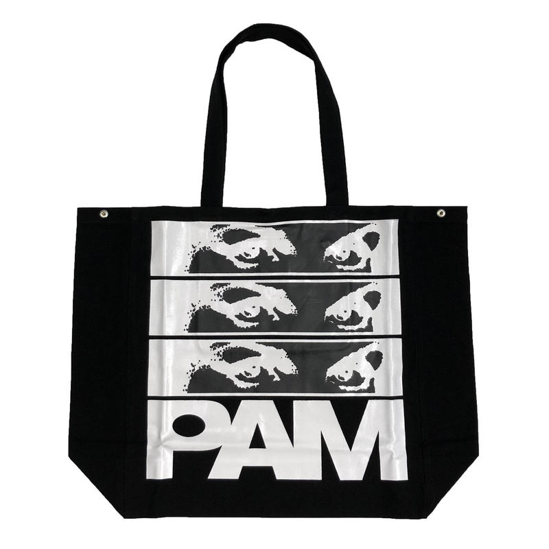 P.A.M AIDEN   TOTE BAG  BLACK
