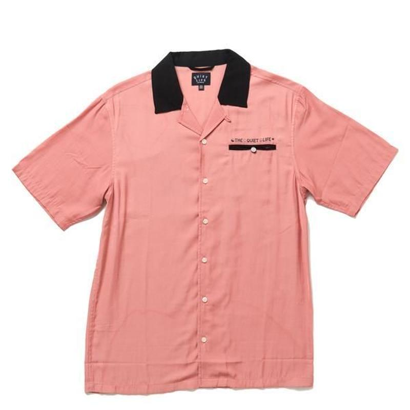 THE QUIET LIFE BOWLING SHIRT RED