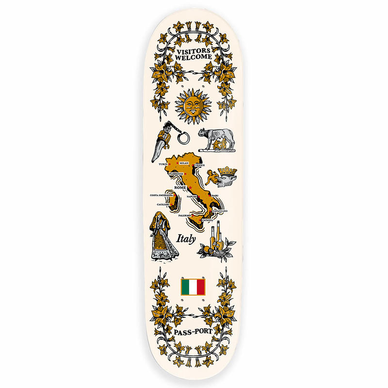 PASS~PORT ITALY DECK 8.0INCH