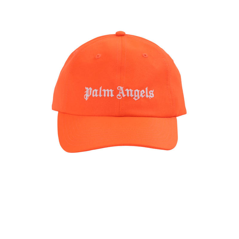 PALM  ANGELS  LOGO CAP ORANGE