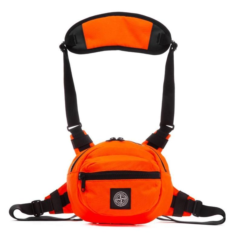 STONE ISLAND BODY BAG  ORANGE  701590771