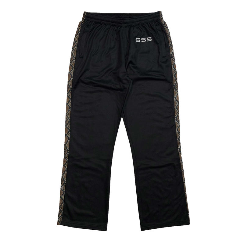 SSS WORLD CORP TRACKSUIT PANTS BLACK