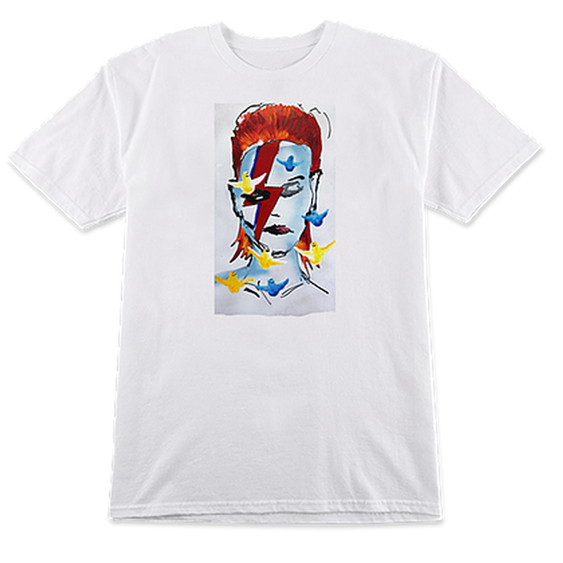 PRIME HERITAGE GONZ BOWIE TEE WHITE