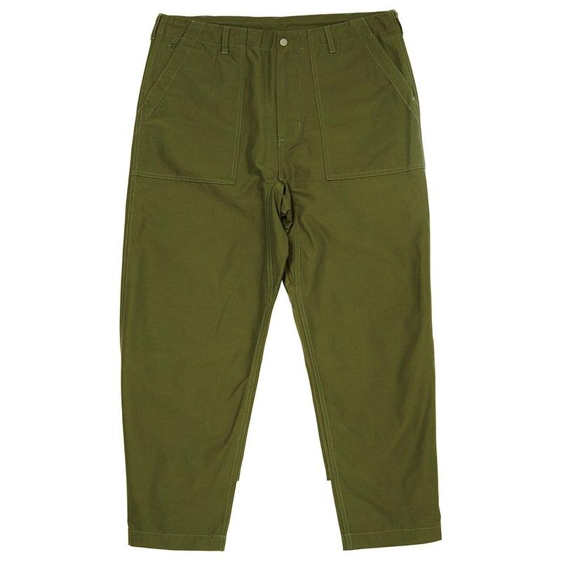 EVISEN SKATEBOARDS FREE TAPERED PANTS OLIVE