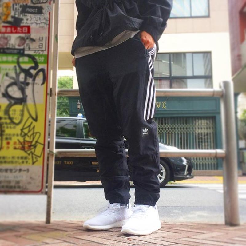 ADIDAS SKATEBOARDING CLASSIC WIND PANTS BLACK