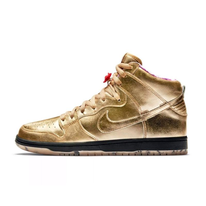 HUMIDITY  ×  NIKE SB DUNK HIGH QS   『METALLIC GOLD』