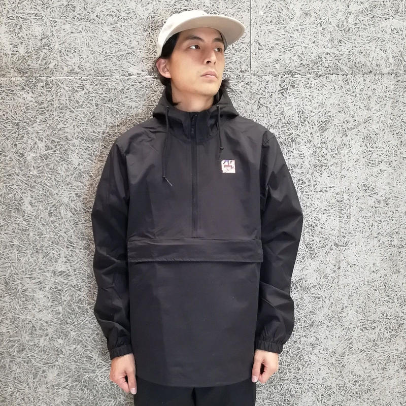 SNAKE PORNO GIRLS ANORAK JACKET BLACK