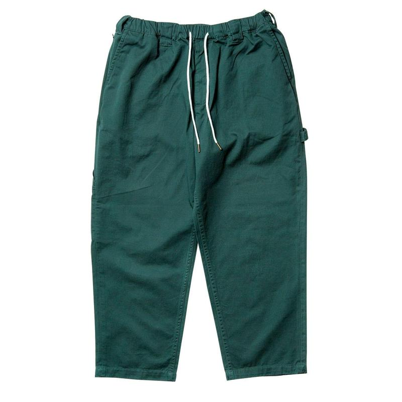 TIGHTBOOTH PRODUCTION BAGGY PAINTER PANTS FOREST
