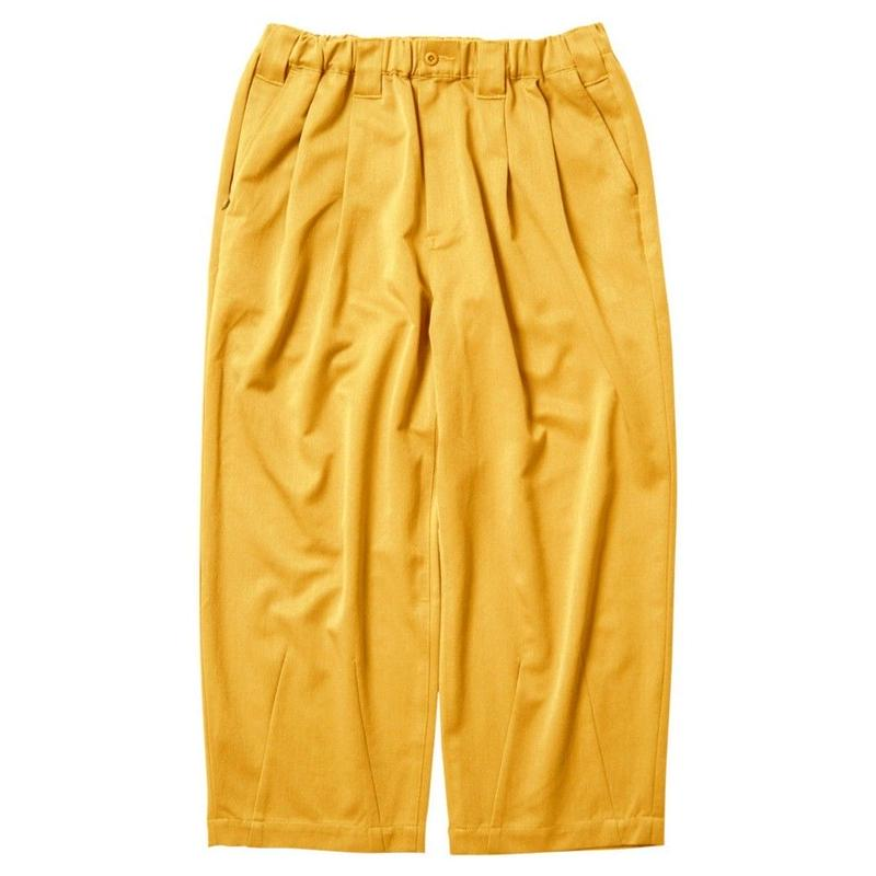 TIGHTBOOTH PRODUCTION BAGGY SLACKS MUSTARD