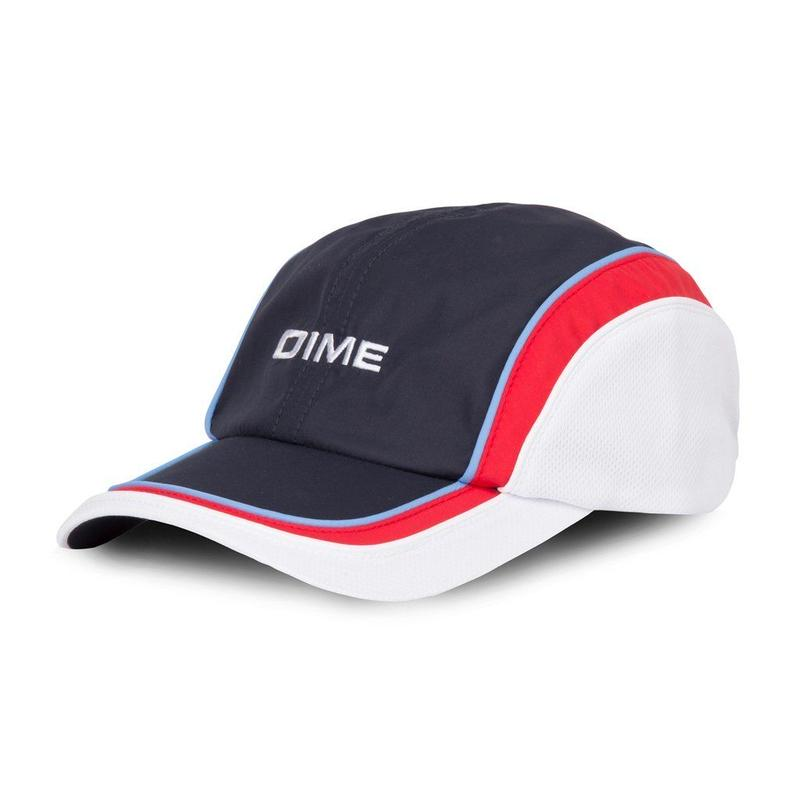 DIME HAT OF PAIN NAVY/RED