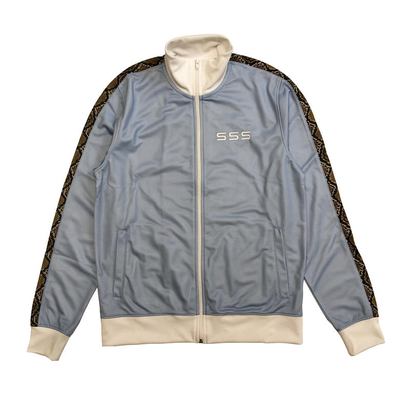 SSS WORLD CORP TRACKSUIT JACKET SAX