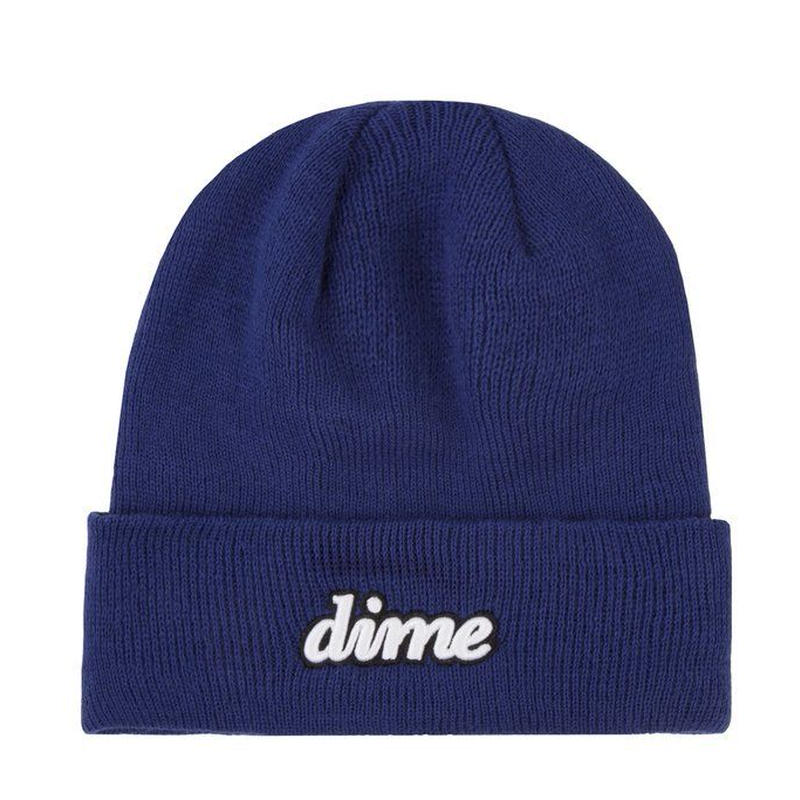 DIME CURSIVE BEANIE SAFETY BLUE