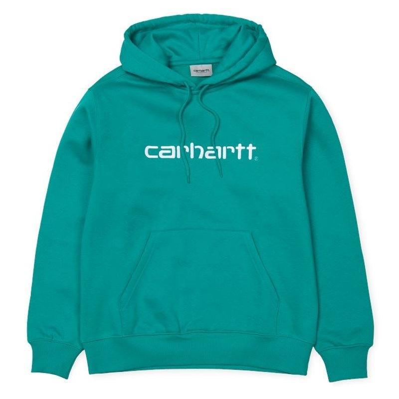 CARHARTT WIP  HOODED CARHARTTSWEATSHIRT CAUMA  / WHITE