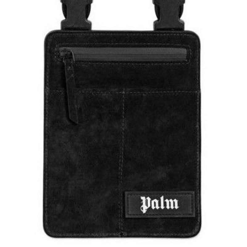 PALM  ANGELS  CROSSBODY BAG BLACK
