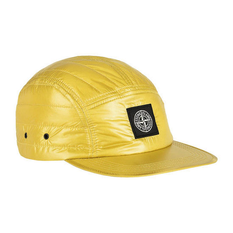 STONE ISLAND PERTEX QUANTUM Y WITH PRIMALOFT® INSULATION TECHNOLOGY CAP YELLOW