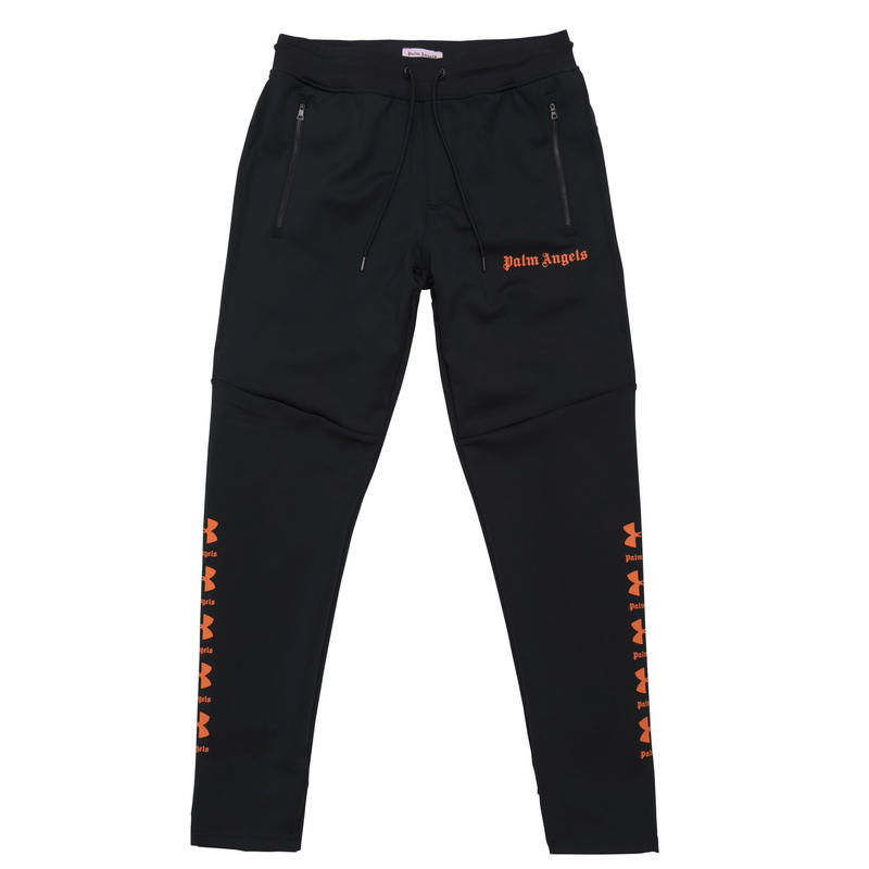 PALM  ANGELS  × UNDER ARMOUR SLIM JOGGINGPANTS BLACK