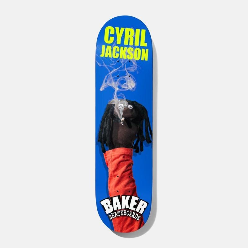 BAKER SKATEBOARDS CJ SOCK PUPPET DECK 8.25