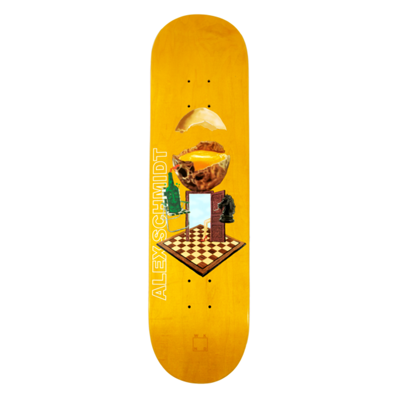 WKND SKATEBOARDS WITH A SUNNY SIDE OF SCHMIDT - ALEX SCHMIDT 8.0INCH