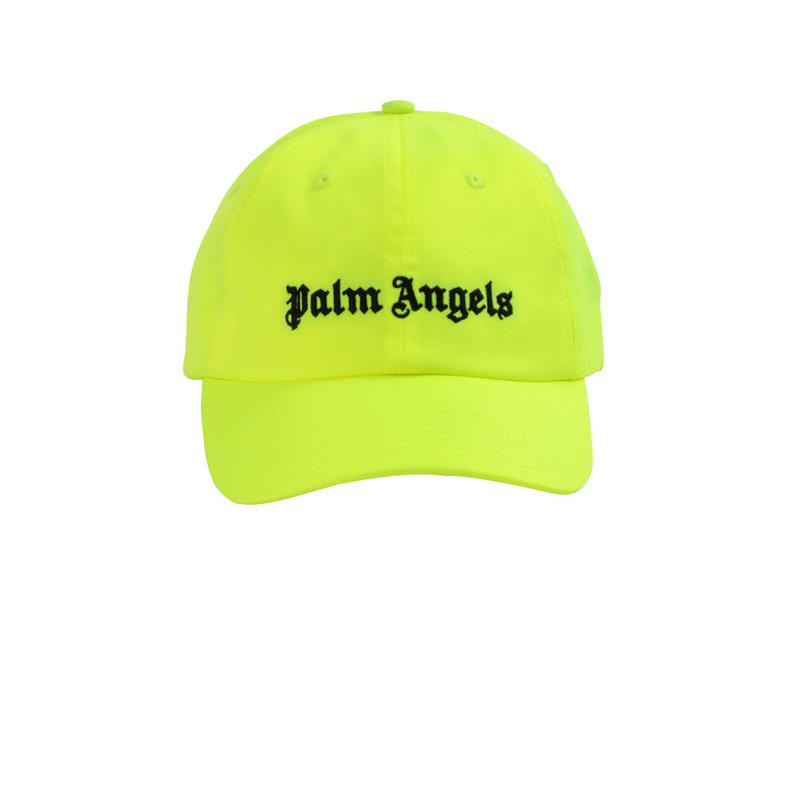 PALM  ANGELS  LOGO CAP YELLOW
