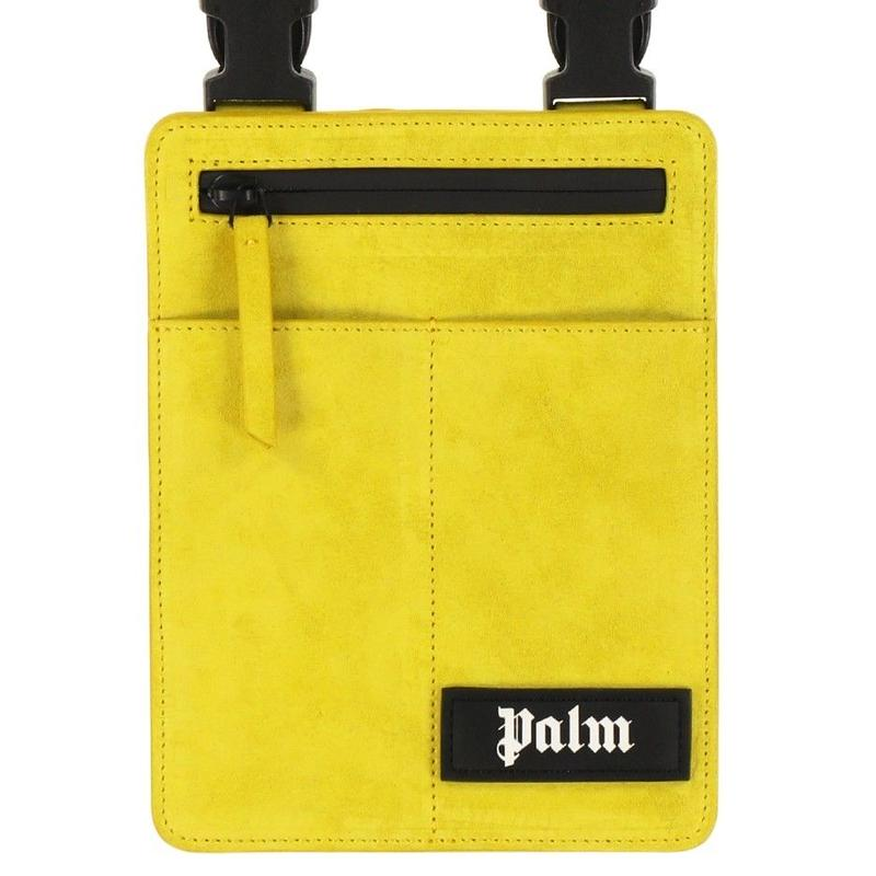 PALM  ANGELS  CROSSBODY BAG YELLOW