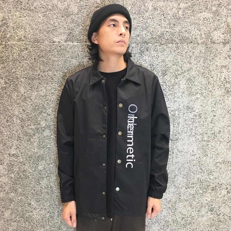 DIASPORA SKATEBOARDS RAW LIFE COACH JACKET BLACK