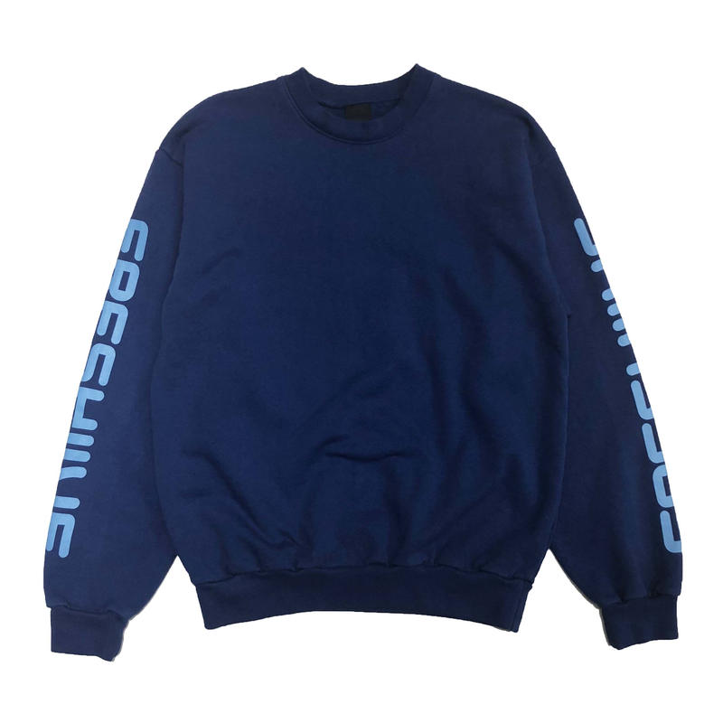 FRESH JIVE COURT SPONSOR CREWNECK SWEATSHIRTS BLUE
