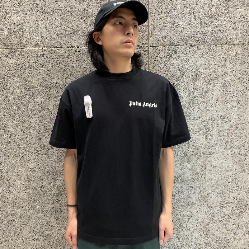 PALM  ANGELS  NEW BASIC TEE BLACK