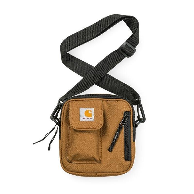 CARHARTT  WIP   ESSENTIALS BAG, SMALL HAMILTON BROWN