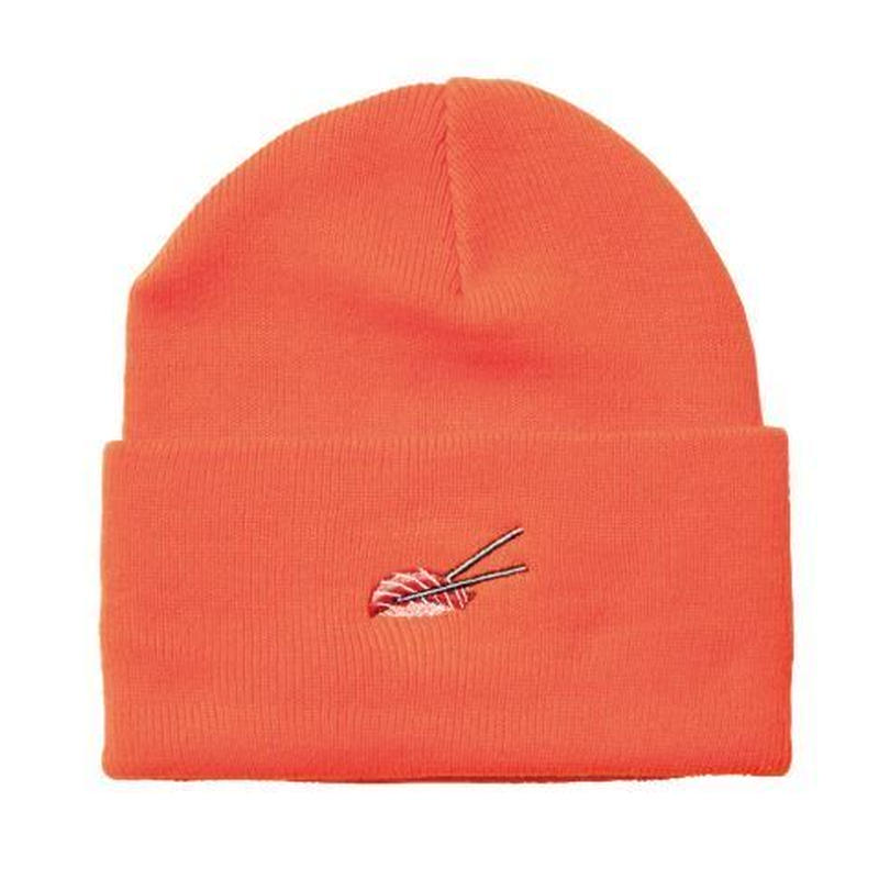EVISEN SKATEBOARDS TUNA SUSHI BEANIE ORANGE