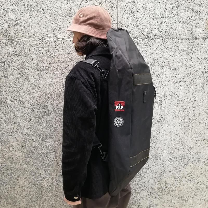MORTAR × PITBULL KATA SKATE BAG PLUS BLACK