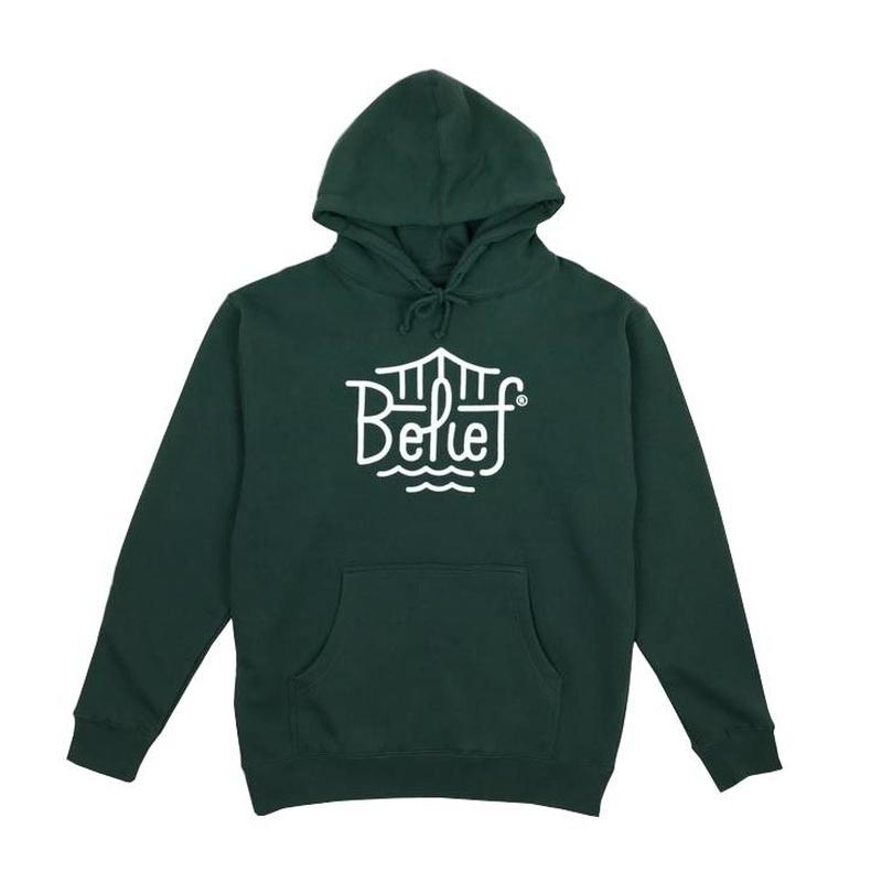 BELIEF TRIBORO HOODY FOREST