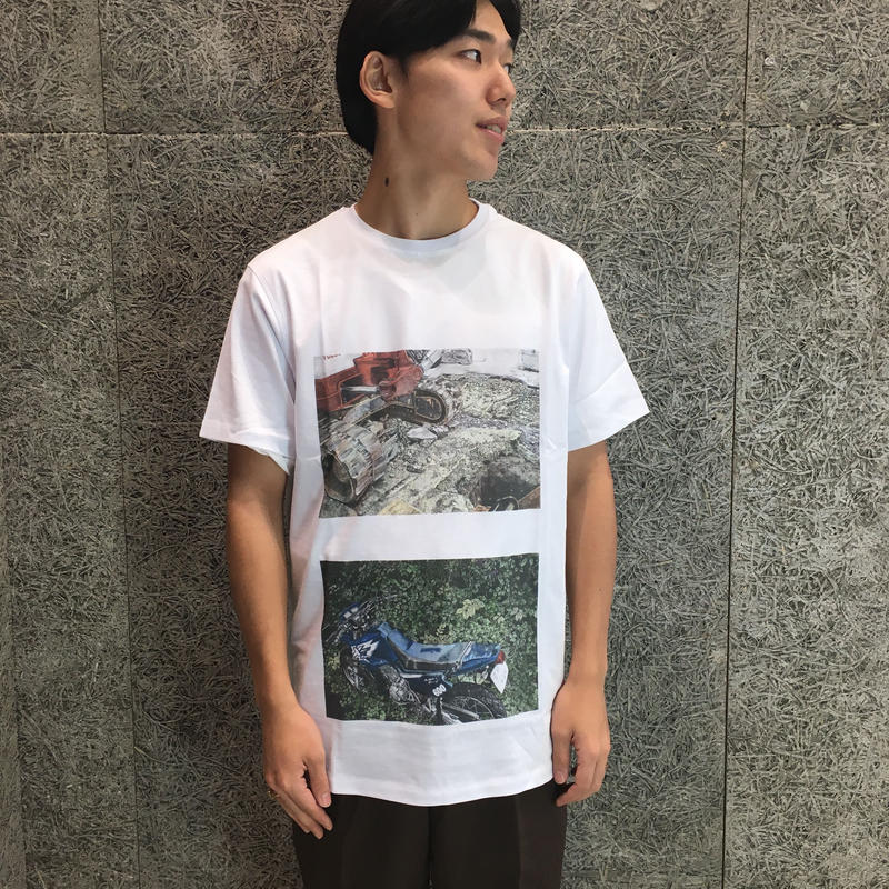 SOULLAND    HAKU T-SHIRT   WHITE