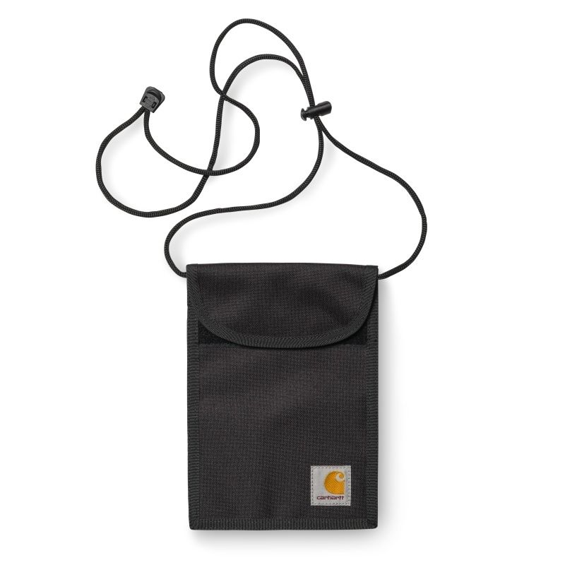 CARAHARTT WIP COLLINS NECK POUCH BLACK