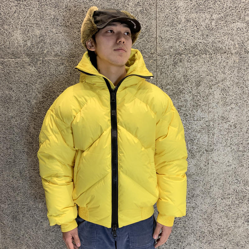 "IENKI IENKI ""Men's Dunlope Jacket"" YELLOW"