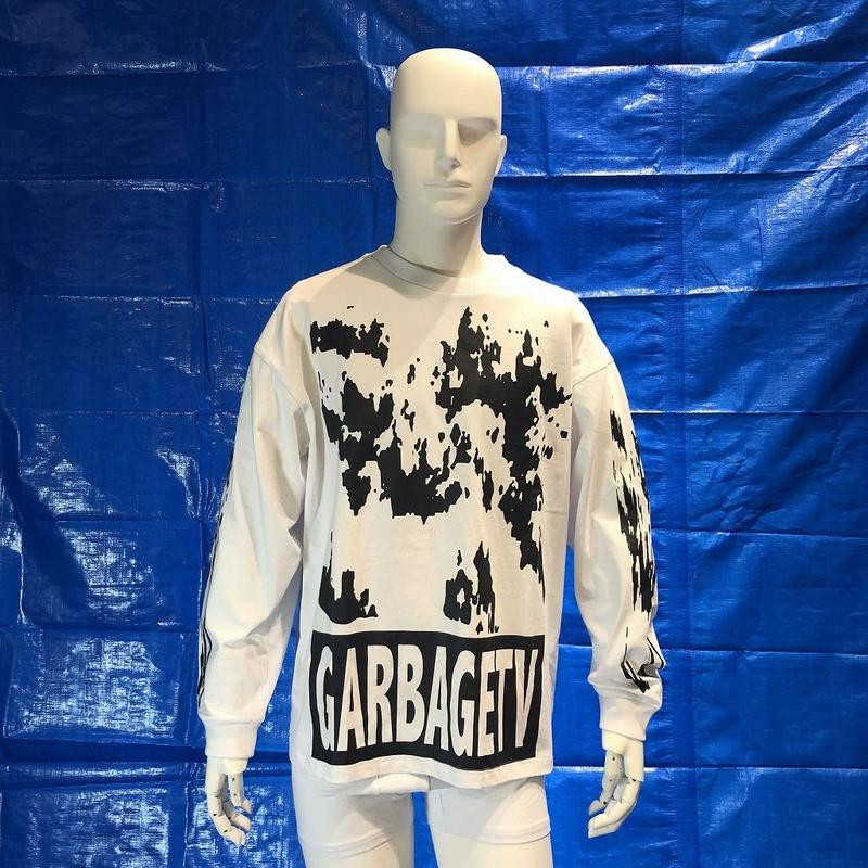 GARBAGE_TV ROBERTS DREAM L/S TEE WHITE