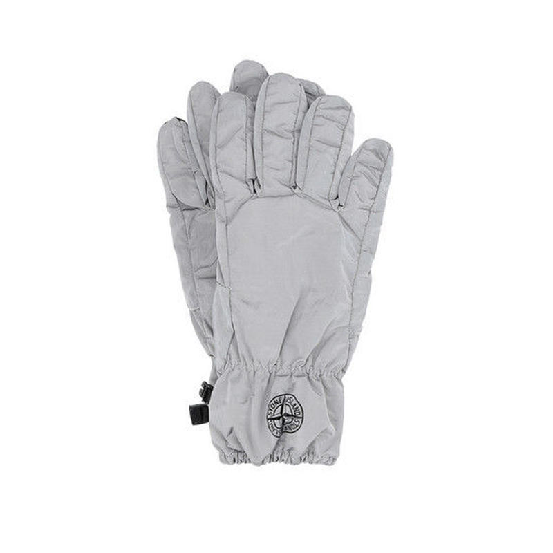 STONE ISLAND NYLON METAL GLOVE GREY