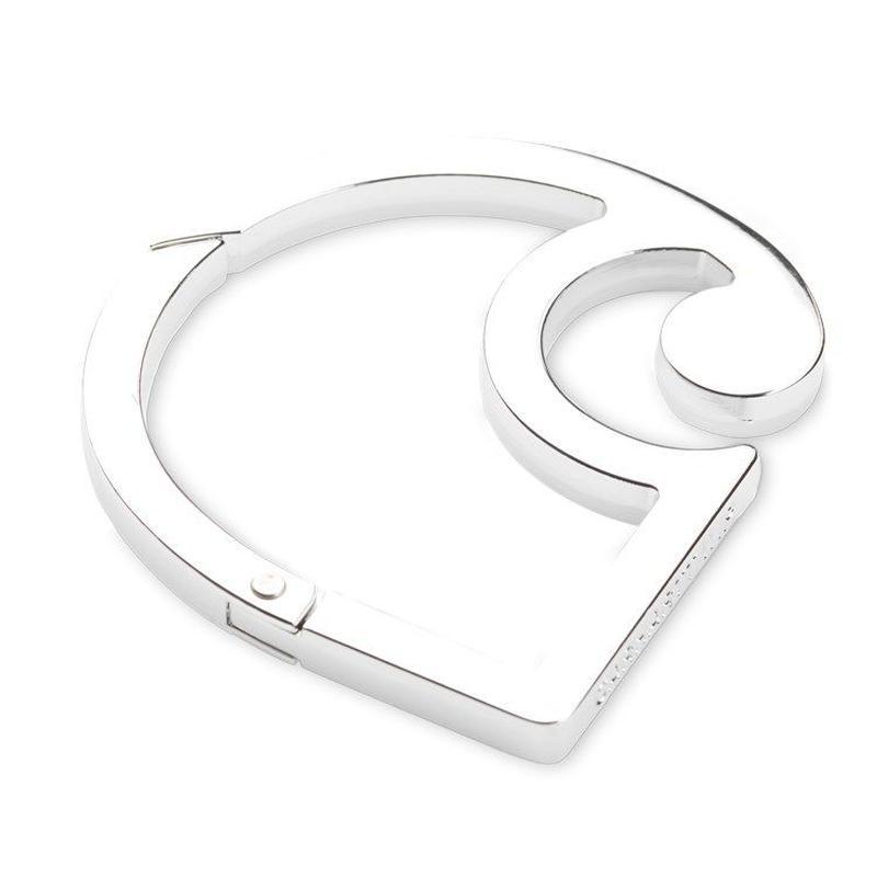 CARHARTT C LOGO CARABINER - Silver