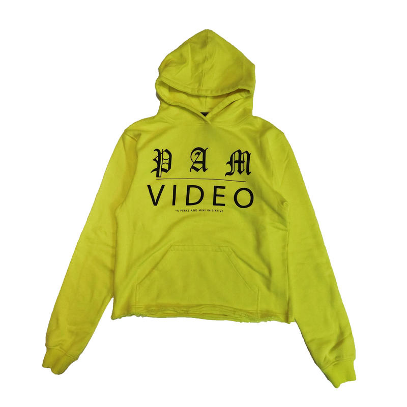 P.A.M VIDEO HOODED SWEAT HIGHLIGHTER