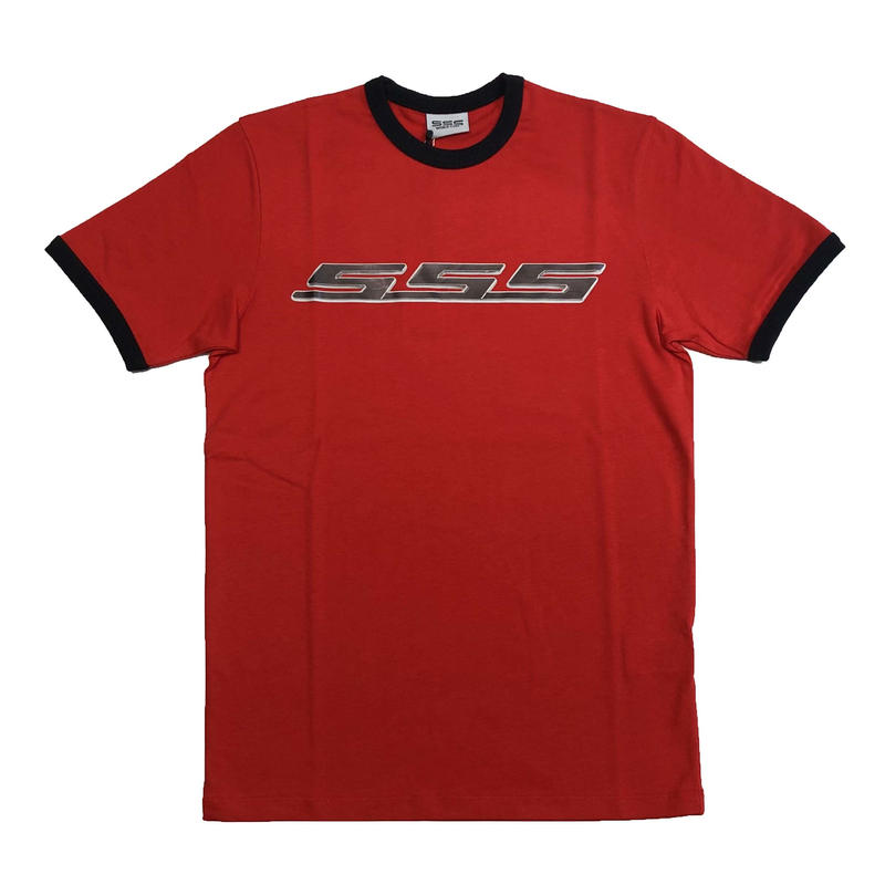 SSS WORLD CORP ANGUS SSS PRINT TSHIRTS RED
