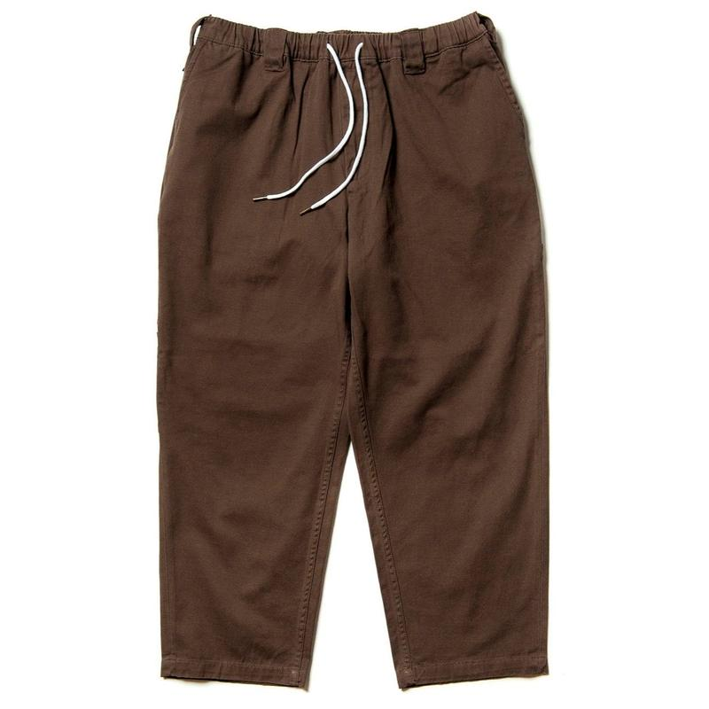 TIGHTBOOTH PRODUCTION BAGGY PAINTER PANTS BROWN