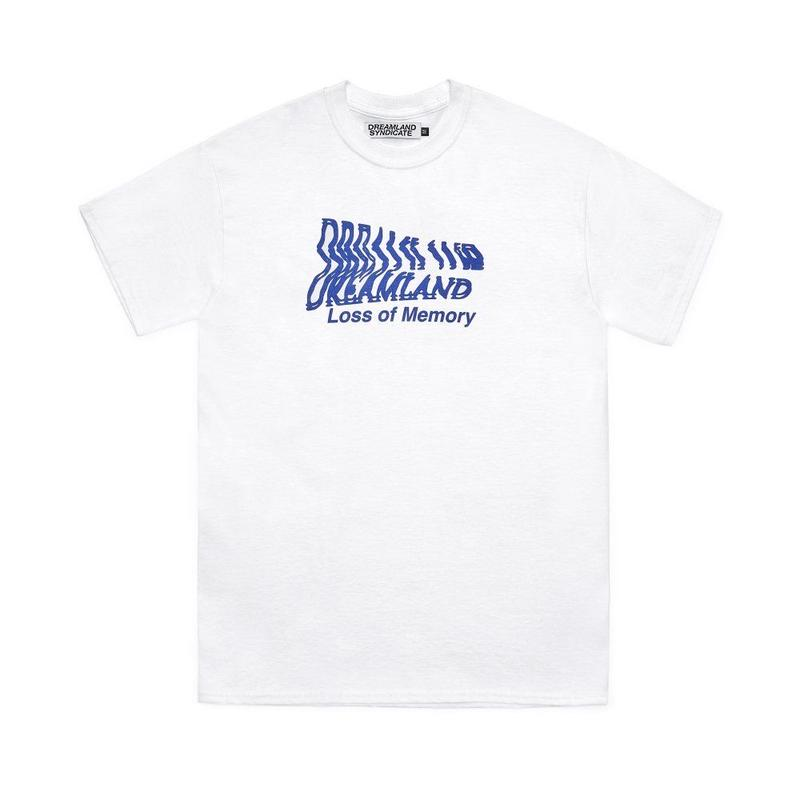 DREAMLAND SYNDICATE MEMORY T-SHIRTS WHITE