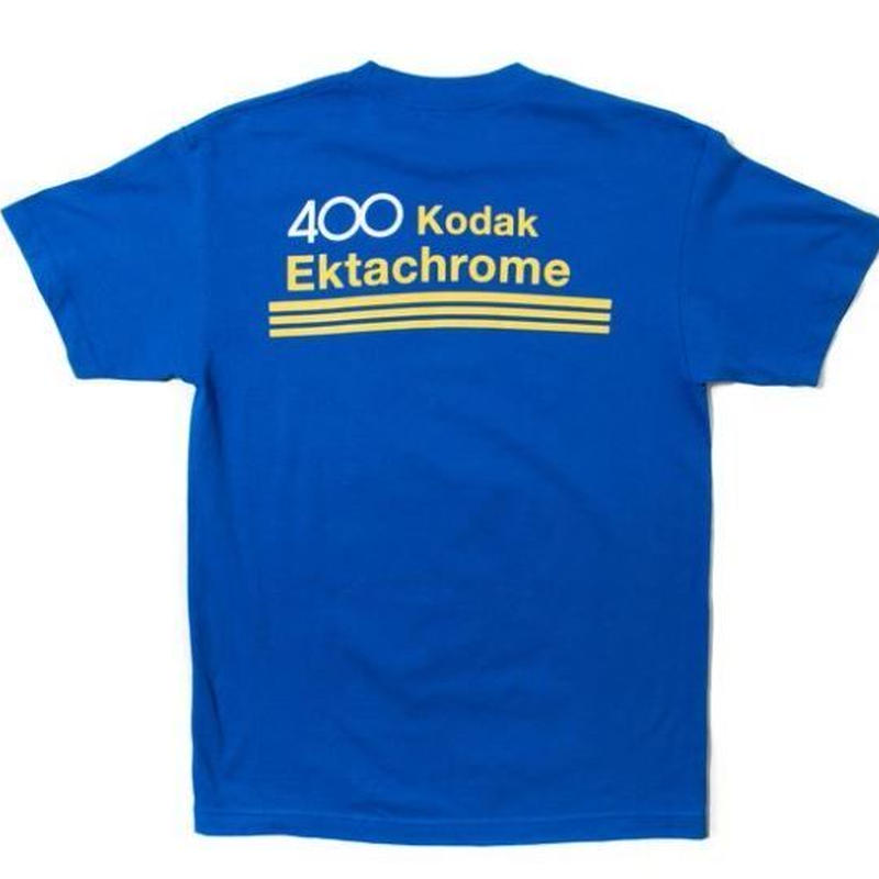 GIRL SKATEBOARDS X KODAK EKTACHROME TEE ROYAL