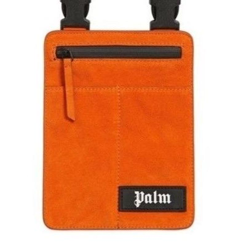 PALM  ANGELS  CROSSBODY BAG ORANGE