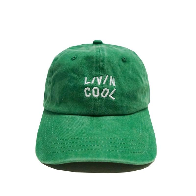 LIVINCOOL   WAVY CAP GREEN
