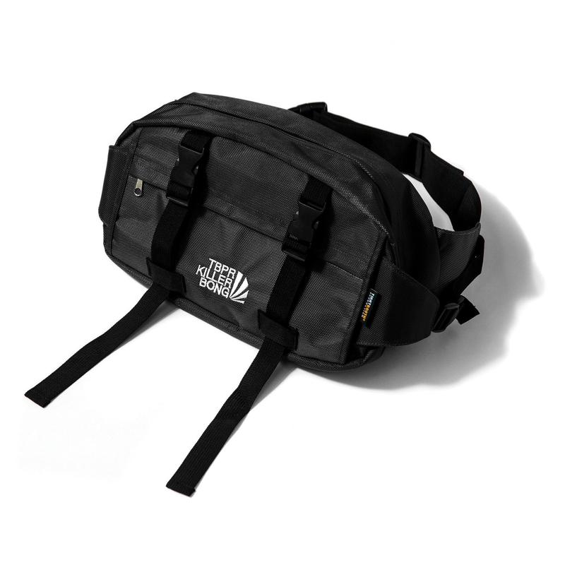 TIGHTBOOTH PRODUCTION CYBORG WAIST BAG BLACK