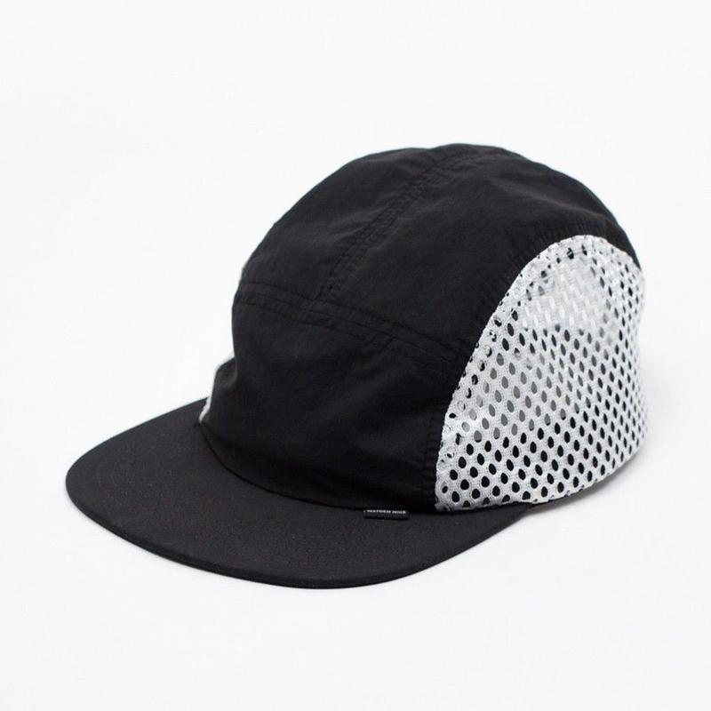 MAIDEN NOIR BRUSH NYLON SPORTS CAP   BLACK