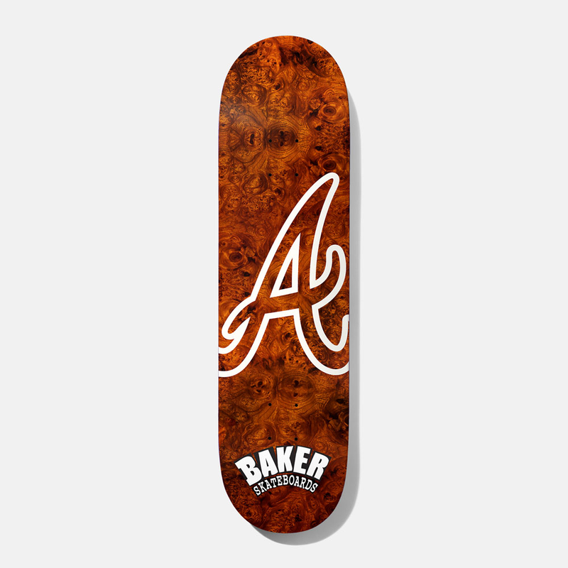 BAKER SKATEBOARDS ATL BURLWOOD DECK 8.125