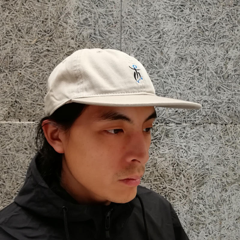 SNAKE PORNO ORINPIA DAD FLAT CAP BEIGE